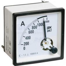 Амперметр Э47 150/5А кл. точн. 1,5 96х96мм