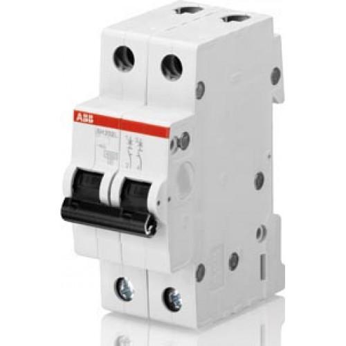 Автоматический выключатель 2-полюсной SH202 C 16 2CDS212001R0164
