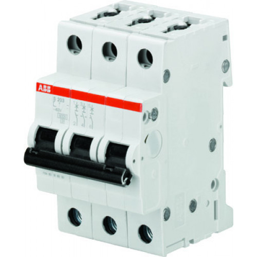 Автоматический выключатель 3-полюсный S203P C10 2CDS283001R0104