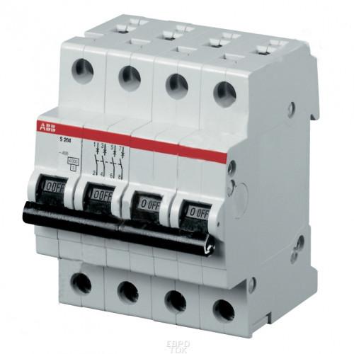 Автоматический выключатель 4-полюсный S204P C20 2CDS284001R0204