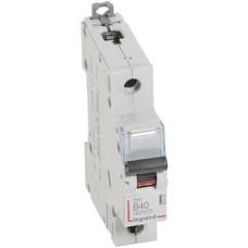 Автоматический выключатель DX3 1П B40A 6000/10kA