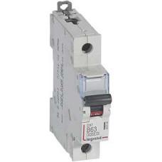 Автоматический выключатель DX3 1П B63A 6000/10kA