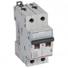 Автоматический выключатель DX3-E C1 2П 6000/6kA