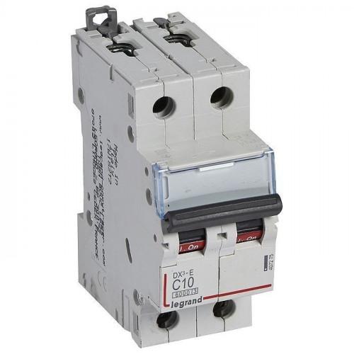 Автоматический выключатель DX3-E C1 2П 6000/6kA 407270