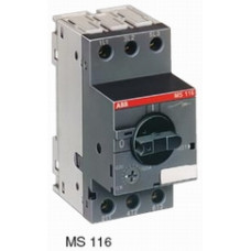 Автоматический выключатель MS116-10.0 50 кА с регулир. тепловой защитой 6,3A-10А Класс тепл. расцепит. 10