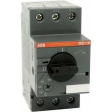 Автоматический выключатель MS116-32 10кА с регулир. тепловой защитой 25A-32А Класс тепл. расцепит. 10