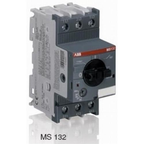 Автоматический выключатель MS132-6.3 100кА с регулир. тепловой защитой 4A-6.3А Класс тепл. расцепит. 10 1SAM350000R1009