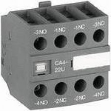 Блок контактный дополнительный CA4-22N (2НО+2НЗ) для реле NF22E…NF40E