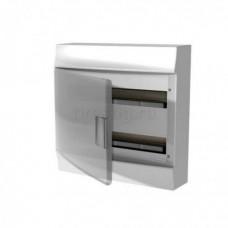Бокс настенный Mistral41 36М прозрачная дверь (с клемм) 2ряда