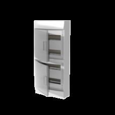 Бокс настенный Mistral41 48М прозрачная дверь (с клемм)