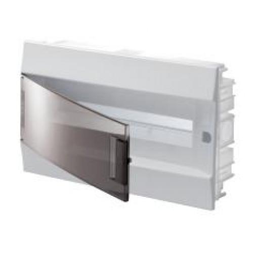 Бокс в нишу Mistral41 18М прозрачная дверь (c клемм) 1SLM004101A2204