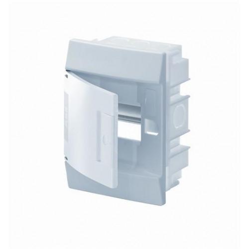Бокс в нишу Mistral41 4М непрозрачная дверь (c клемм) 1SLM004101A1100