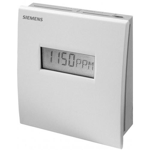 Датчик качества воздуха комнатный СО2: 0…2000ppm, CO2 + VOC: 0…2000 ppm QPA2002D