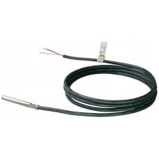 Датчик температуры кабельный, Pt100,  -30…+130 ºС, силиконовый кабель
