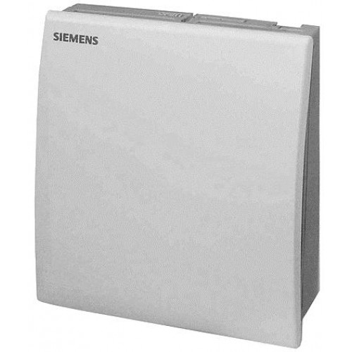 Датчик влажности и температуры комнатный, DC0…10V, LG-Ni 1000,  0…95%, -15…+50 ºC QFA2020