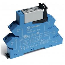 Интерфейсный модуль, электромеханическое реле; 2CO 8A; питание 12В DC (чувствит.); (пружинный зажим)
