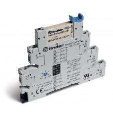 Интерфейсный модуль, электромеханическое реле с таймером (мультифункциональные: AI,DI,GI,SW); 1CO 6A; питание 24В АС/DC;