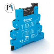Интерфейсный модуль, электромеханическое реле, серия MasterOUTPUT; 1NO 6A; питание 24В AC/DC;  безвинтовые клеммы Push-in