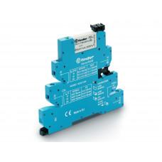 Интерфейсный модуль, электромеханическое реле, серия MasterPLUS; 1CO 6A; питание 230-240В AC/DC; подавление утечки тока;