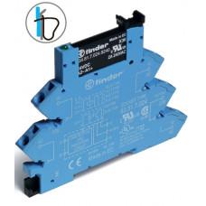 Интерфейсный модуль, твердотельное реле; выход 2A (24В DC); питание 230-240В AC/DC; подавление утечки тока; (пружинный зажим)