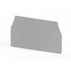 Концевой сегмент на измер. клеммники WGO3, (серый);  NPP WGO3
