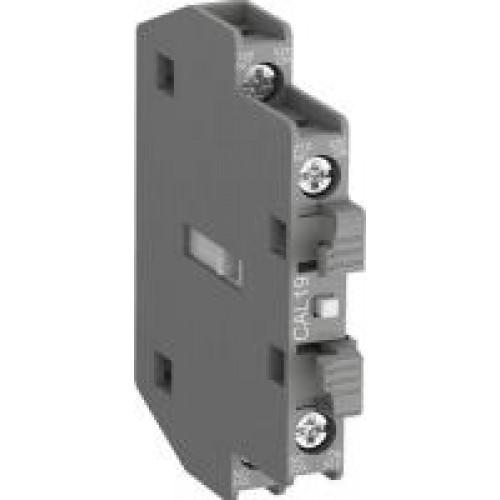 Контакт CAL19-11B 1НО, 1НЗ дополнительный боковой для контакторов AF116-AF370 1SFN010820R3311