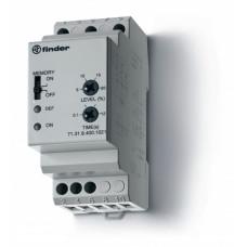 Контрольное реле для 3-фазных сетей; пониженное/повышенное напряжение; настраиваемые диапазоны; память отказов; выход 1CO 10А;