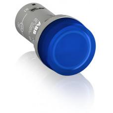Лампа CL2-502L синяя со встроенным светодиодом 24ВAC/DC