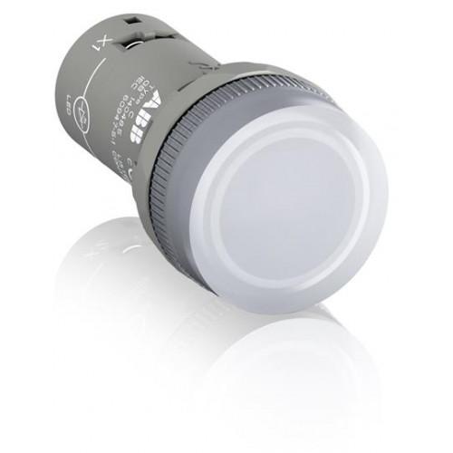 Лампа CL2-523C белая со встроенным светодиодом 230В AC 1SFA619403R5238
