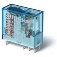 Миниатюрное универсальное электромеханическое реле;  1CO 16A; катушка 12B DC;