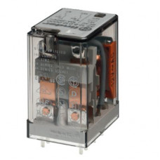 Миниатюрное универсальное электромеханическое реле;  2CO 10A;  катушка 60В DC;