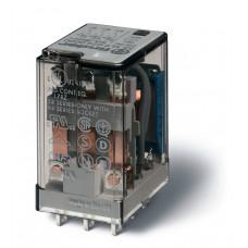 Миниатюрное универсальное электромеханическое реле;  3CO 10A;  катушка 125В DC;