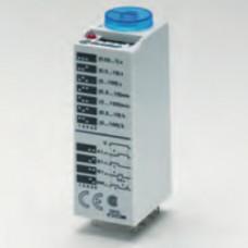Миниатюрный мультифункциональный таймер (AI, DI, SW, GI);  питание 24В АС/DC; 2CO 10A; регулировка времени 0.05с…100ч;