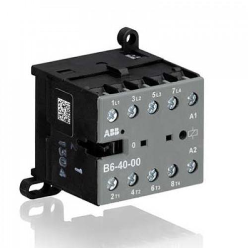 Миниконтактор B6-40-00 9A (400В AC3) катушка 24В АС GJL1211201R0001