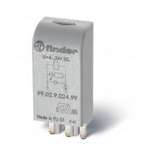 Модуль индикации и защиты; RC-цепь; 28...60В AC/DC
