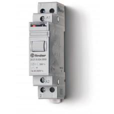 Модульное электромеханическое шаговое реле; 1NO 16А, 2 состояния;  питание 24В DC;
