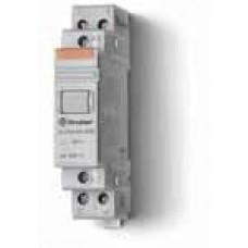 Модульный контактор; 1NO+1NC 20А;  катушка 12В DС;