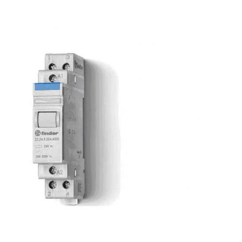 Модульный контактор; 1NO 20А;  катушка 48В DС 222190484000