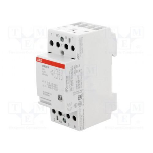 Модульный контактор ESB-24-31 (24А AC1) катушка 24B AC/DC GHE3291602R0001