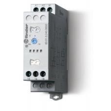 Модульный таймер мультифункциональный (AI, DI, SW, BE, CE, DE, WD); питание 24…240В АС/DC; 1CO 16A; регулировка времени 0.05с…10дней;