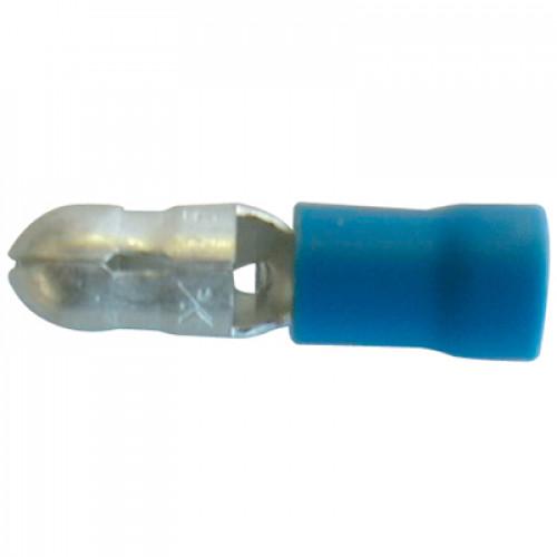 Наконечн. изол. 0,5-1,5 мм.кв., штепсельный штифтовой, диам.4 мм; KMT-1040 (100шт/упак) 598010