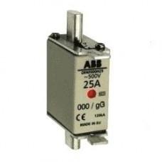Предохранитель OFAF000H25 25A тип gG размер000, до 500В