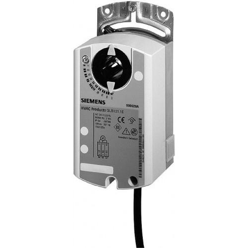Привод воздушной заслонки, поворотный, 10 Nm,  DС 0…10V, AC 24V GLB161.1E