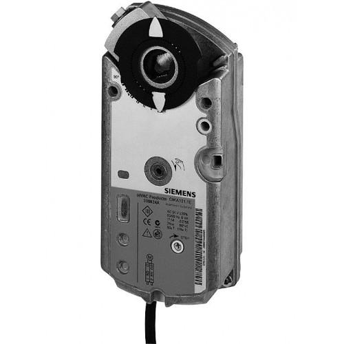 Привод воздушной заслонки, поворотный, 7 Nm, пружинный возврат, DС 0…10 V,  AC/DC 24 GMA161.1E