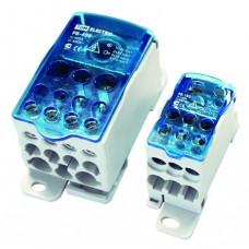Распределительный блок на DIN-рейку РБ-160 1П 160А (1х70+1x16/6x16) TDM SQ0823-0003