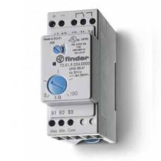 Реле контроля уровня; настраиваемый диапазон чувствительности 5…150кОм; питание 400В AC; выход 1CO 16А; модульное,