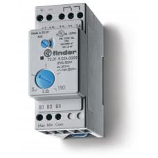 Реле контроля уровня; настраиваемый диапазон чувствительности 5…450кОм; питание 240В AC; выход 1CO 16А;