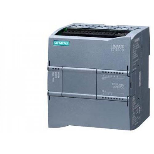 SIMATIC S7-1200, CPU 1214C, ЭЛЕКТРОННЫЙ КОМПОНЕНТ, COMPACT CPU, AC/DC/RLY, ONBOARD I/O: 14 DI 24V DC 6ES72141BE300XB0