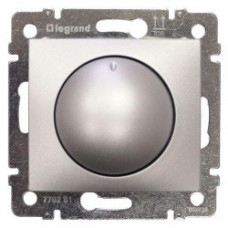Светорегулятор (диммер) Legrand Valena 40-400Вт (алюминий)   770261