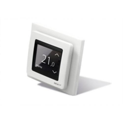 Терморегулятор DEVIreg Touch сенсорный, скрытого монтажа, белый (с датчиком)    140F1064 140F1064
